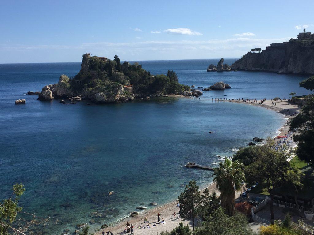 Taormina Isola bella Beach